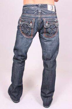 Мужские джинсы The Wedge Black Stitch