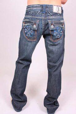 Мужские джинсы The Wedge Blue Stitch