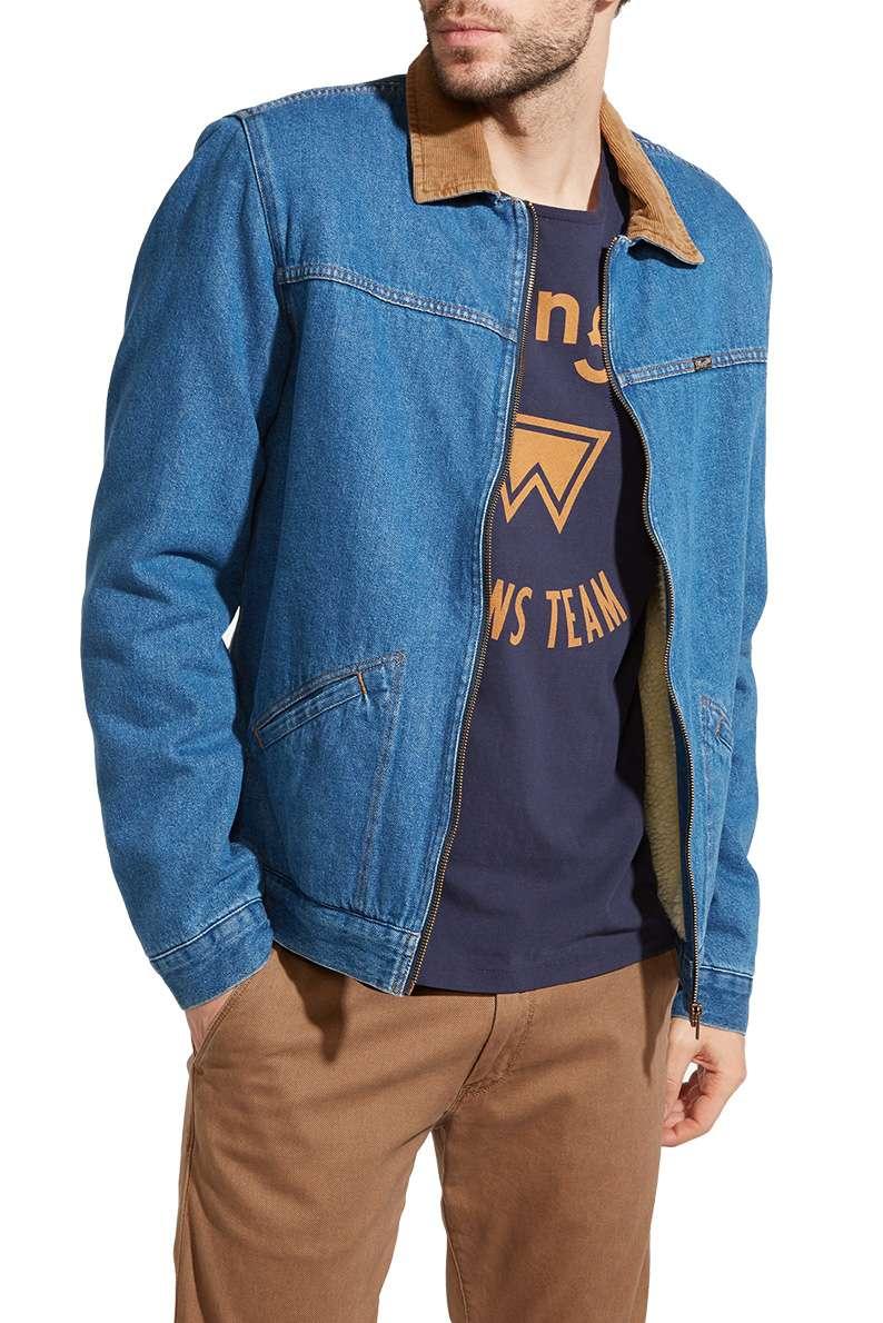 Джинсовая куртка с мехом Москва